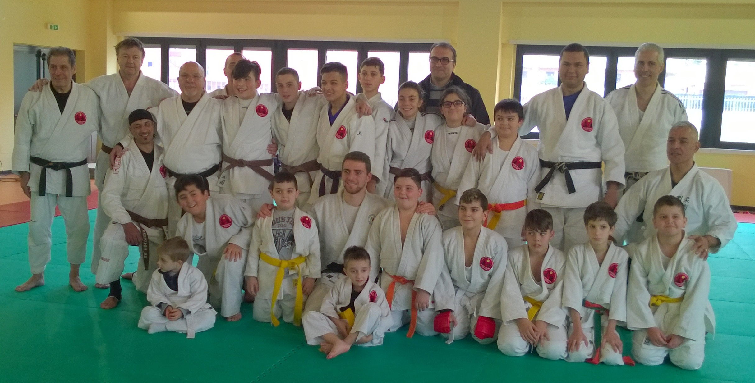 corsi di judo - ju-jitsu - fighting system - ne waza - grappling
